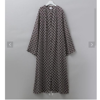 BEAUTY&YOUTH UNITED ARROWS - 6(ROKU)SQUARE PRINT DRESS/ワンピース