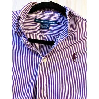 ポロラルフローレン(POLO RALPH LAUREN)のラルフローレン ブラウス ストライプ(シャツ/ブラウス(半袖/袖なし))