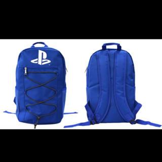 プレイステーション(PlayStation)のPlaystation プレイステーション リュック ブルー 新品未使用タグ付き(バッグパック/リュック)