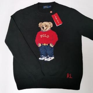 Ralph Lauren - Ralph Lauren ポロベア セーター レディース ブラック 国内正規品
