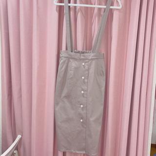ウィゴー(WEGO)の量産型 ジャンスカ ピンク wego(ひざ丈スカート)
