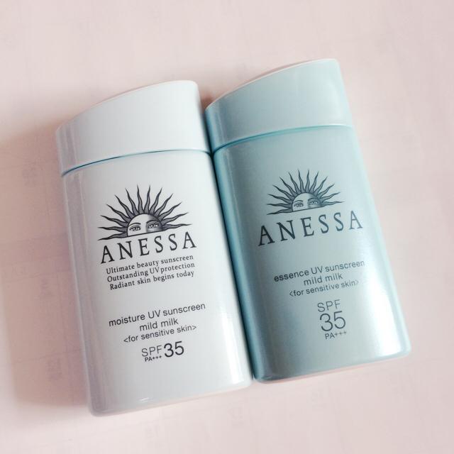 ANESSA(アネッサ)のアネッサ モイスチャーUV マイルドミルク a 日焼け止め 60ml 2点 新品 コスメ/美容のボディケア(日焼け止め/サンオイル)の商品写真