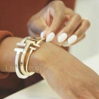 Ron Herman - 358.T square bracelet【silver】