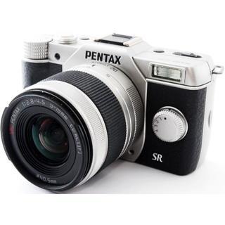 ペンタックス(PENTAX)の❤️驚くほどコンパクト!スマホに送れる❤️ペンタックス Q10 シルバー❤️(ミラーレス一眼)