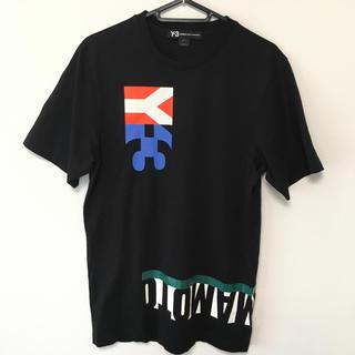 Y-3 - Y-3 ワイスリー 半袖Tシャツ XS 黒 ヨウジヤマモト ①