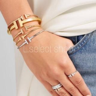 エンフォルド(ENFOLD)の358.T square bracelet【gold】(ブレスレット/バングル)