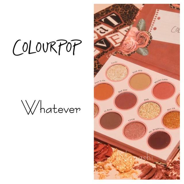 colourpop(カラーポップ)のcolourpop 🌹whatever コスメ/美容のベースメイク/化粧品(アイシャドウ)の商品写真