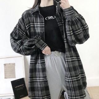 コンバース(CONVERSE)のCONVERSE 20ss チェックシャツ(シャツ/ブラウス(長袖/七分))