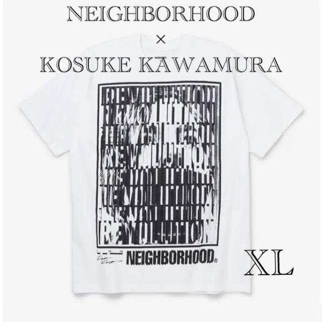 NEIGHBORHOOD(ネイバーフッド)のNeighborhood × Kosuke Kawamura TシャツXLサイズ メンズのトップス(Tシャツ/カットソー(半袖/袖なし))の商品写真