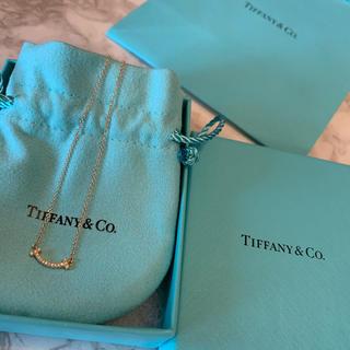 Tiffany & Co. - 【新品】Tiffany ティファニー ティースマイル ダイヤ ネックレス
