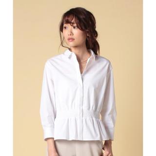 アナイ(ANAYI)の深田恭子着用 TVドラマ着用 ホワイトシャツ(シャツ/ブラウス(長袖/七分))