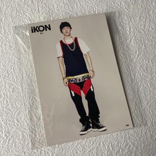 アイコン(iKON)のiKON ポストカード(B.I)(アイドルグッズ)