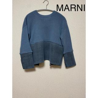 マルニ(Marni)のマルニ バックリボンニット セーター(ニット/セーター)
