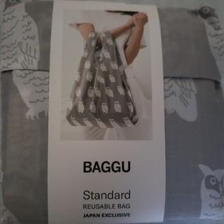 ビームス(BEAMS)の※新品未開封送料込※ Baggu バグゥ スタンダードサイズ フクロウ柄 北欧風(エコバッグ)