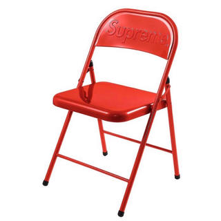 Supreme - Supreme Metal Folding Chair 赤  椅子