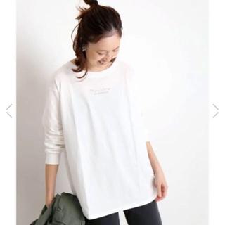イエナスローブ(IENA SLOBE)のスローブイエナ mon village ロゴTシャツ(Tシャツ(長袖/七分))