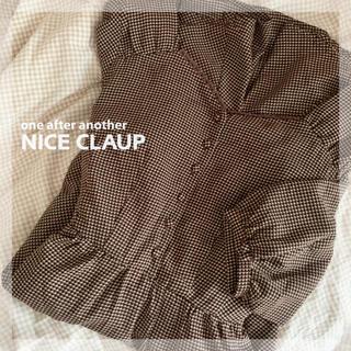 ナイスクラップ(NICE CLAUP)のNICE CLAUP ワンピース(ひざ丈ワンピース)