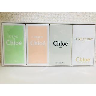 クロエ(Chloe)のChloe クロエ ミニボトルセット ギフト【新品未使用】(香水(女性用))