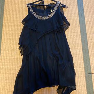 グレースコンチネンタル(GRACE CONTINENTAL)のグレースコンチネンタルのシルクドレス(ミディアムドレス)