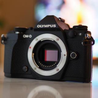 OLYMPUS - OLYMPUS OM-D E-M5 Mark II BLK ボディ