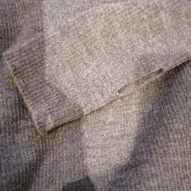 L'Appartement DEUXIEME CLASSE(アパルトモンドゥーズィエムクラス)のアパルトモン 指ぬきボートネックリブニット レディースのトップス(ニット/セーター)の商品写真