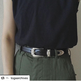 トーガ(TOGA)のtoga pulla metal buckle belt(ベルト)