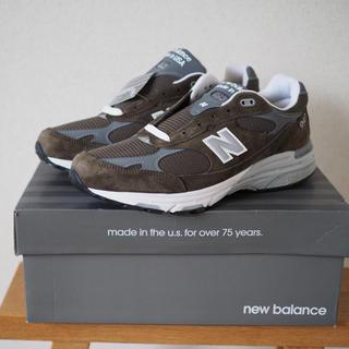 ニューバランス(New Balance)の【新品未使用】 newbalance mr993mg(スニーカー)