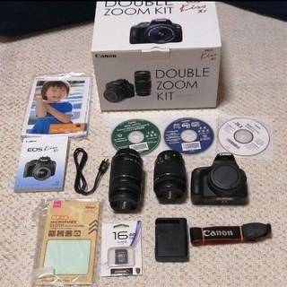 Canon - Canon EOS KISS X7 Wズームキットキャノンダブルズームキッ