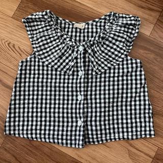 petit main - ノースリーブシャツ