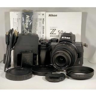 Nikon - 【新品級107ショット】Nikon Z50 16-50 VR レンズキット