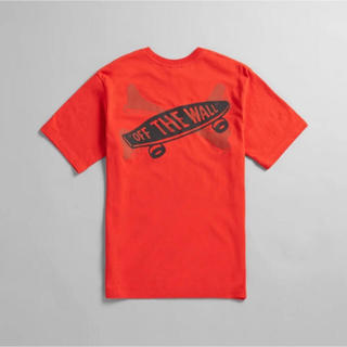 W)taps - VANS VAULT X WTAPS TEE ORANGE small