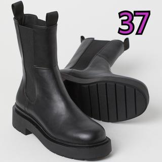 エイチアンドエム(H&M)の【新品未使用】H&M チェルシーブーツ 37(ブーツ)