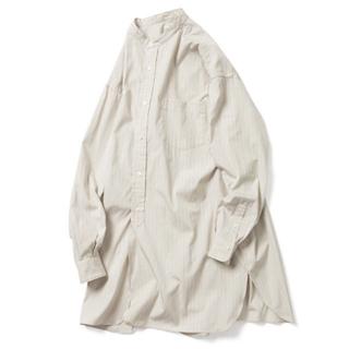 コモリ(COMOLI)のlenoandco バンドカラーシャツ(シャツ/ブラウス(長袖/七分))