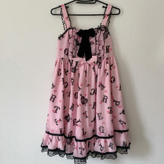 Angelic Pretty - angelic pretty letter doll ジャンパースカート