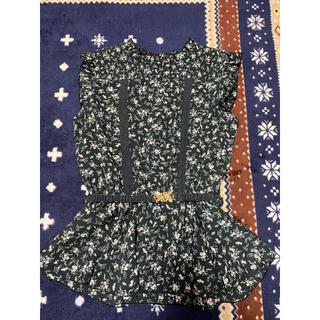 アクシーズファム(axes femme)のアクシーズのベルト付きカットソー(カットソー(半袖/袖なし))