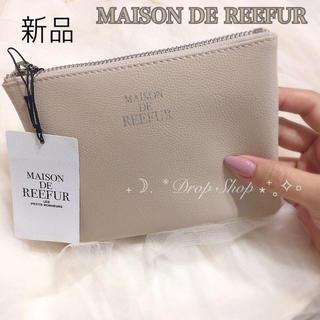 メゾンドリーファー(Maison de Reefur)の𓊆 新品 Maison de REEFUR ロゴ入りポーチ 𓊇 (ポーチ)