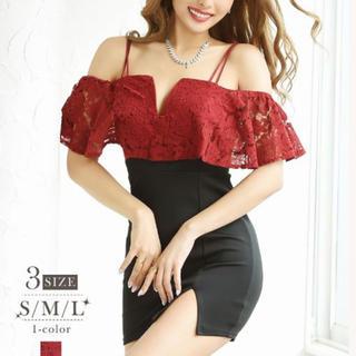 リュリュ(RyuRyu)の赤黒 ドレス(ナイトドレス)