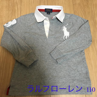 POLO RALPH LAUREN - 長袖 ラルフローレン 110  ラガーシャツ