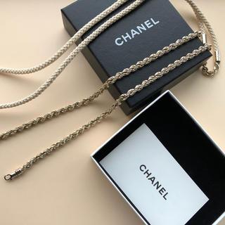 CHANEL - シャネル ロングネックレス ラリエット CHANEL アクセサリー 未使用