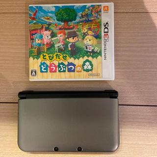 ニンテンドー3DS - 任天堂 Nintendo ニンテンドー 3DS LL とびだせどうぶつの森
