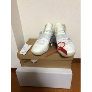 27.5 Nike react hyperdunk 2017 off white(スニーカー)