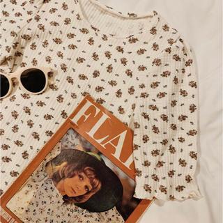 ヘザー(heather)のtreatürself 半袖 サーマル(Tシャツ(半袖/袖なし))