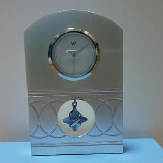 ウェッジウッド(WEDGWOOD)のWEDGEWOOD スター クロック(置時計)