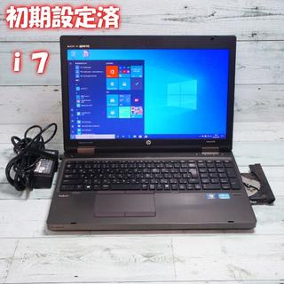 HP - ノートパソコン HP win10 i7 4GB 320GB YB220916