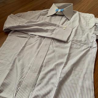 スーツカンパニー(THE SUIT COMPANY)のメンズ ワイシャツ ストライプ 長袖(シャツ)