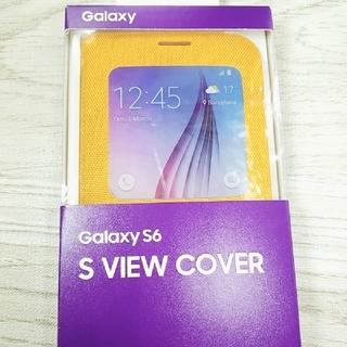 ギャラクシー(Galaxy)のGALAXYS6 純正カバー(Androidケース)