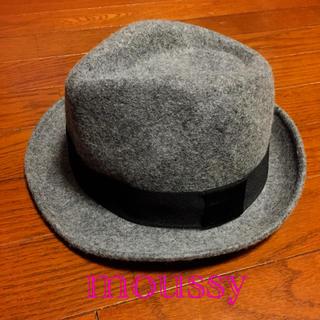マウジー(moussy)のmoussy 羊毛ハット 帽子 フリー マウジー(ハット)