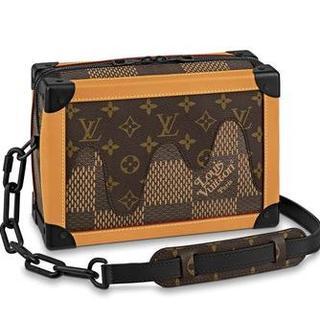 LOUIS VUITTON - NIGO コラボ ソフトトランク ショルダーバッグ