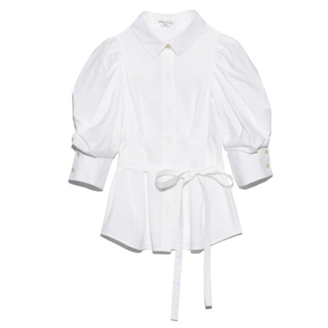snidel(スナイデル)のSNIDELスナイデルORGANICS パワショルブラウス レディースのトップス(シャツ/ブラウス(半袖/袖なし))の商品写真