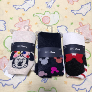 ベビーギャップ(babyGAP)のbabygap  新品80cm ミニー  タイツ(靴下/タイツ)